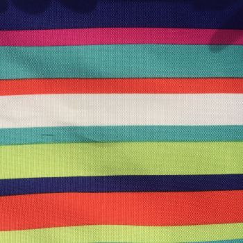 Multi Striped Water resistant Polyester