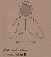 Two Stitches - Charlie Hoodie Sewing Pattern