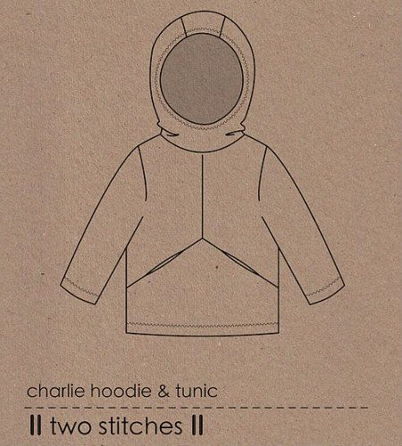Charlie Hoodie Sewing Pattern