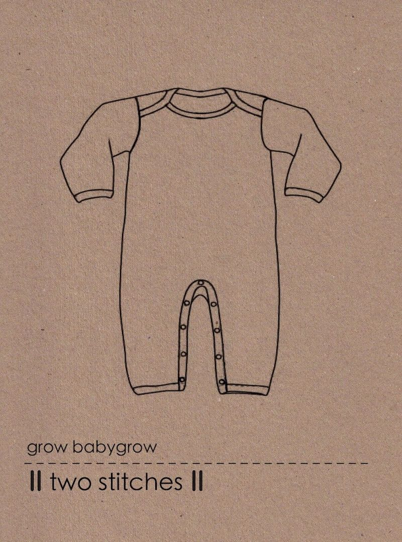 Baby Grow Sewing Pattern