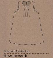 Two Stitches - Frida Sewing Pattern