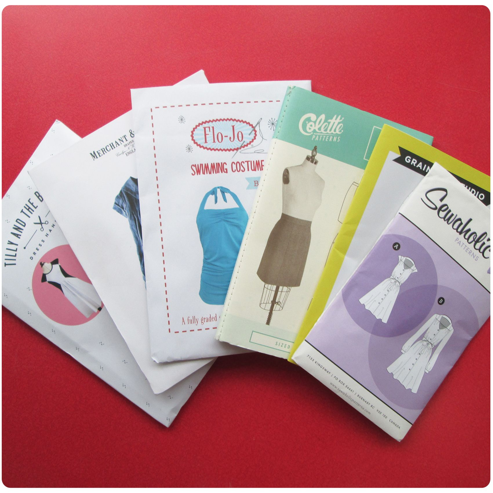 Contemporary independent sewing patterns