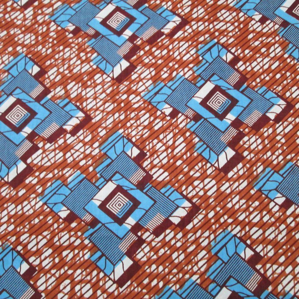 Wax Cotton - Geometric