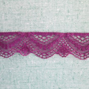 Stretch Lace - purple