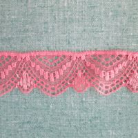 Stretch Lace - Pale Pink