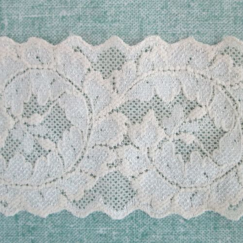 Stretch Lace - cream