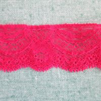 Stretch Lace - cerise
