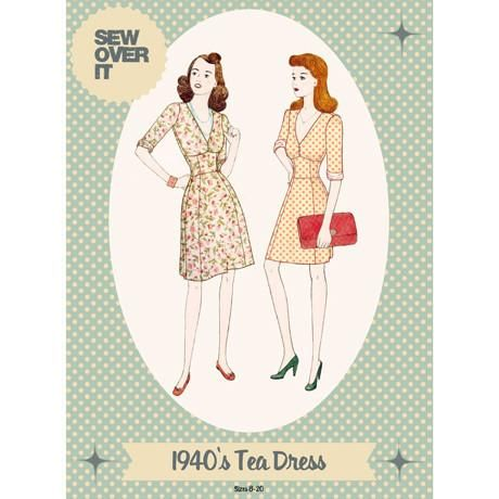 1940's Tea Dress - Sew Over It