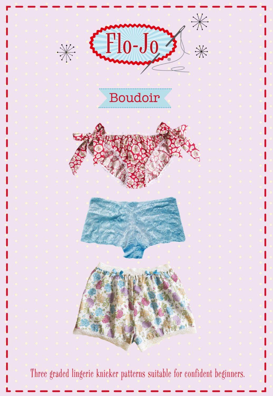 'Boudoir' Knicker Pattern
