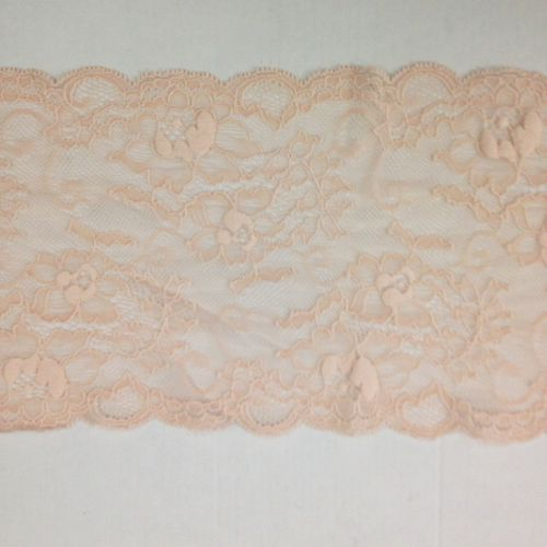 Pink Stretch Lace