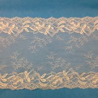 Wide Stretch Lace - Cream