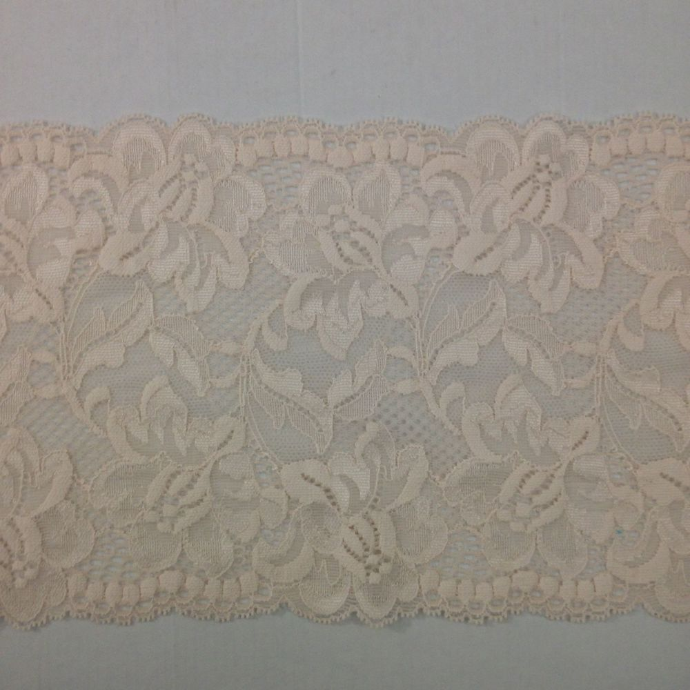 Peach Stretch Lace