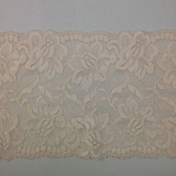 Wide Stretch Lace - Peach