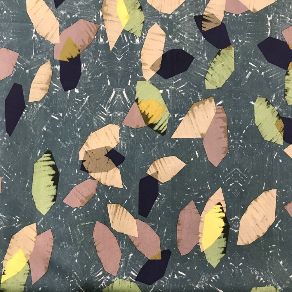 Cotton Lawn Fabric - Lorenzo
