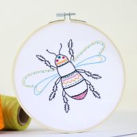Hawthorn Bee Embroidery Kits