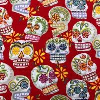 Calaveras Skulls by Alexander Henry Fabric