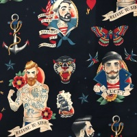 Anchors Away  by Alexander Henry Fabric
