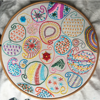 7. Creative Embroidery with Alli Tillcock (4 weeks )