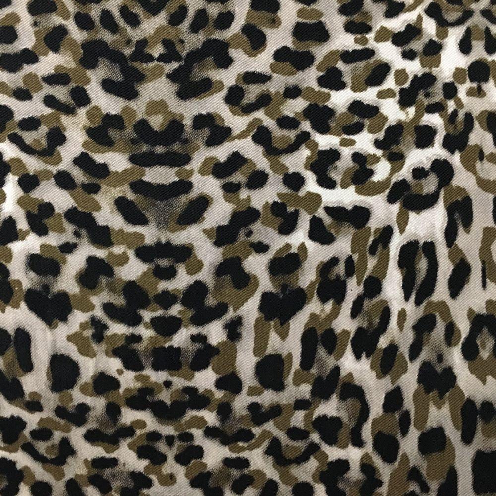 Sateen - Leopard Print