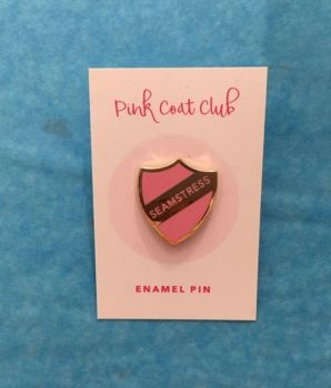 Enamel Pin Badge -Seamstress