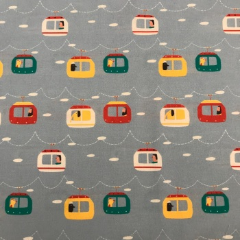 Katia Fabric -Cable cars