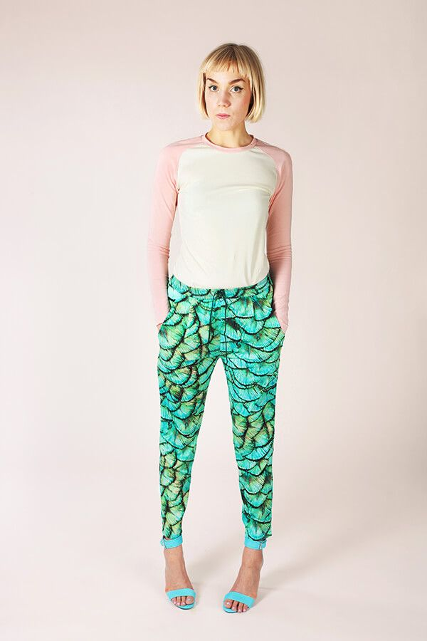 Alexandria Peg Trousers