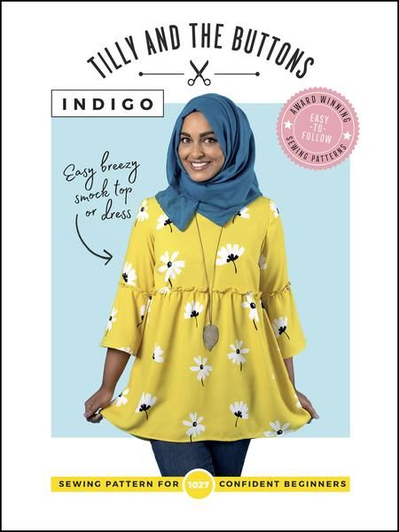 Tilly and Buttons - Indigo Sewing Pattern