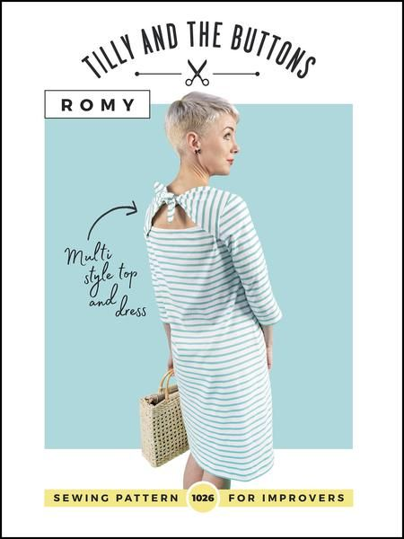 Tilly and Buttons - Romy  Dress and Top Sewing Pattern
