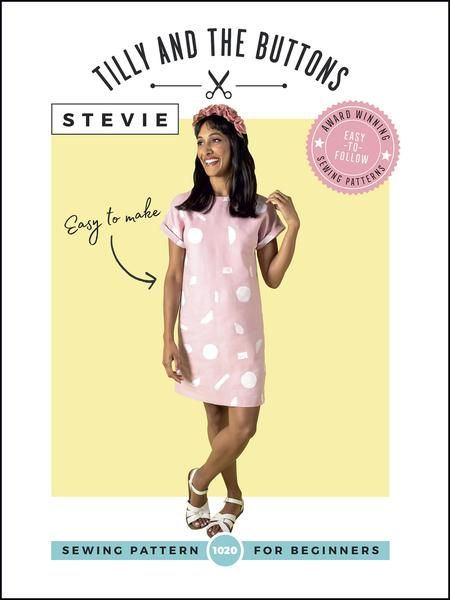 Tilly and Buttons - Stevie Sewing Pattern