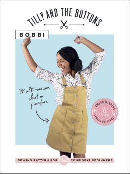 Bobbi Skirt and Pinafore Sewing Pattern