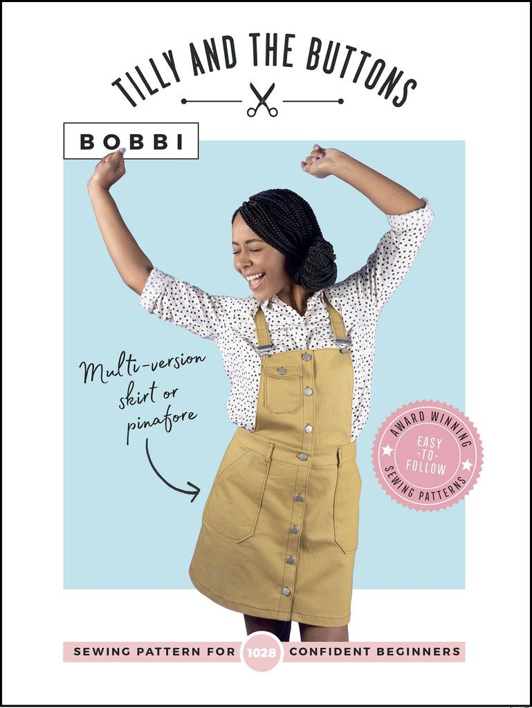 Bobbi Skirt and Pinafore Sewing Pattern
