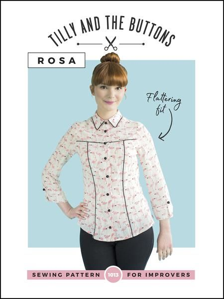 Tilly and the Buttons - Rosa Sewing Pattern