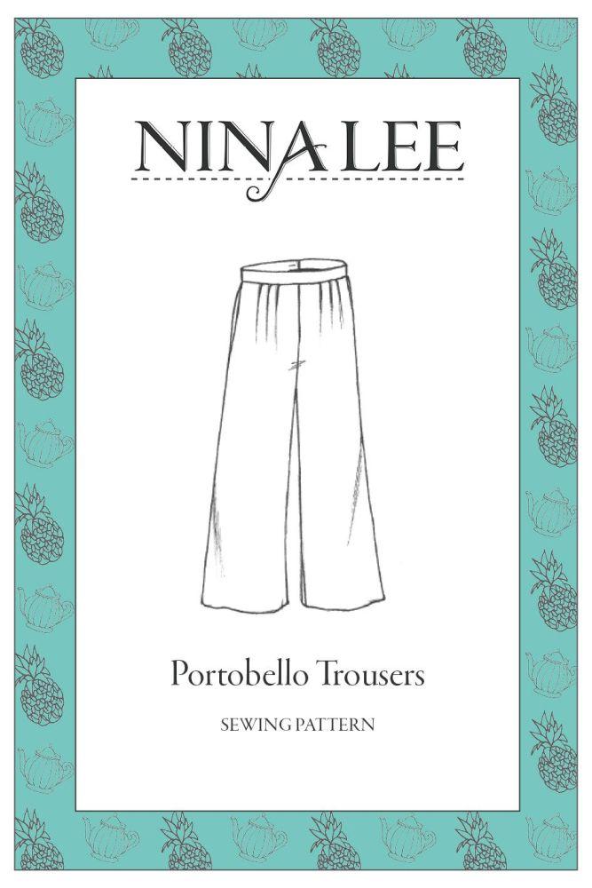 Nina Lee -Portobello Trouser Sewing Pattern
