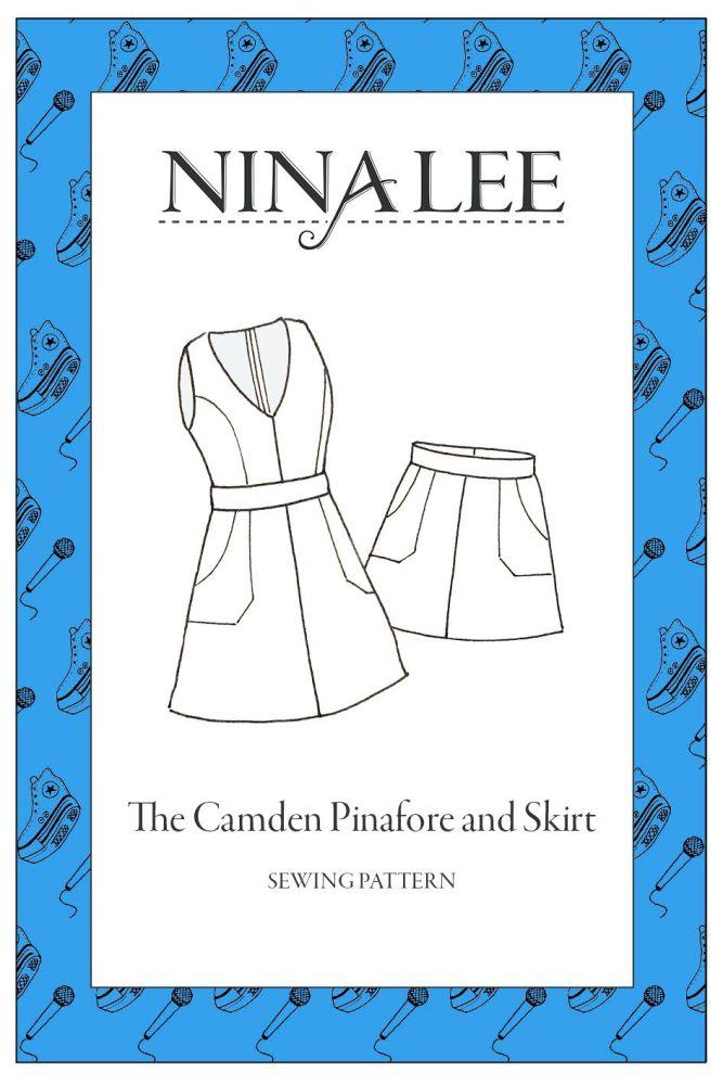 Nina Lee -The Camden Pinafore Sewing Pattern