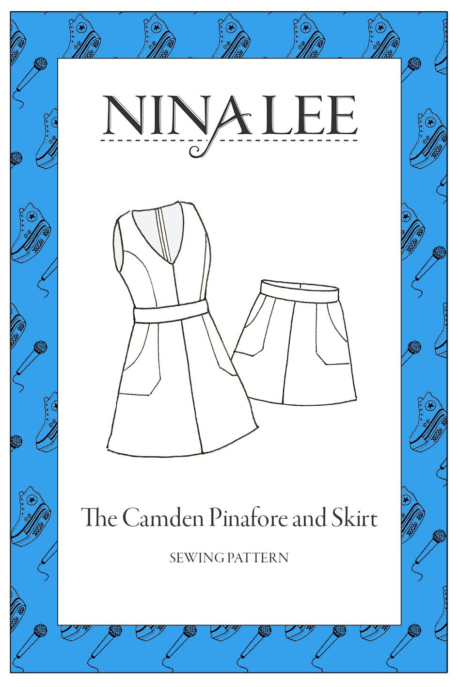 The Camden Pinafore Sewing Pattern