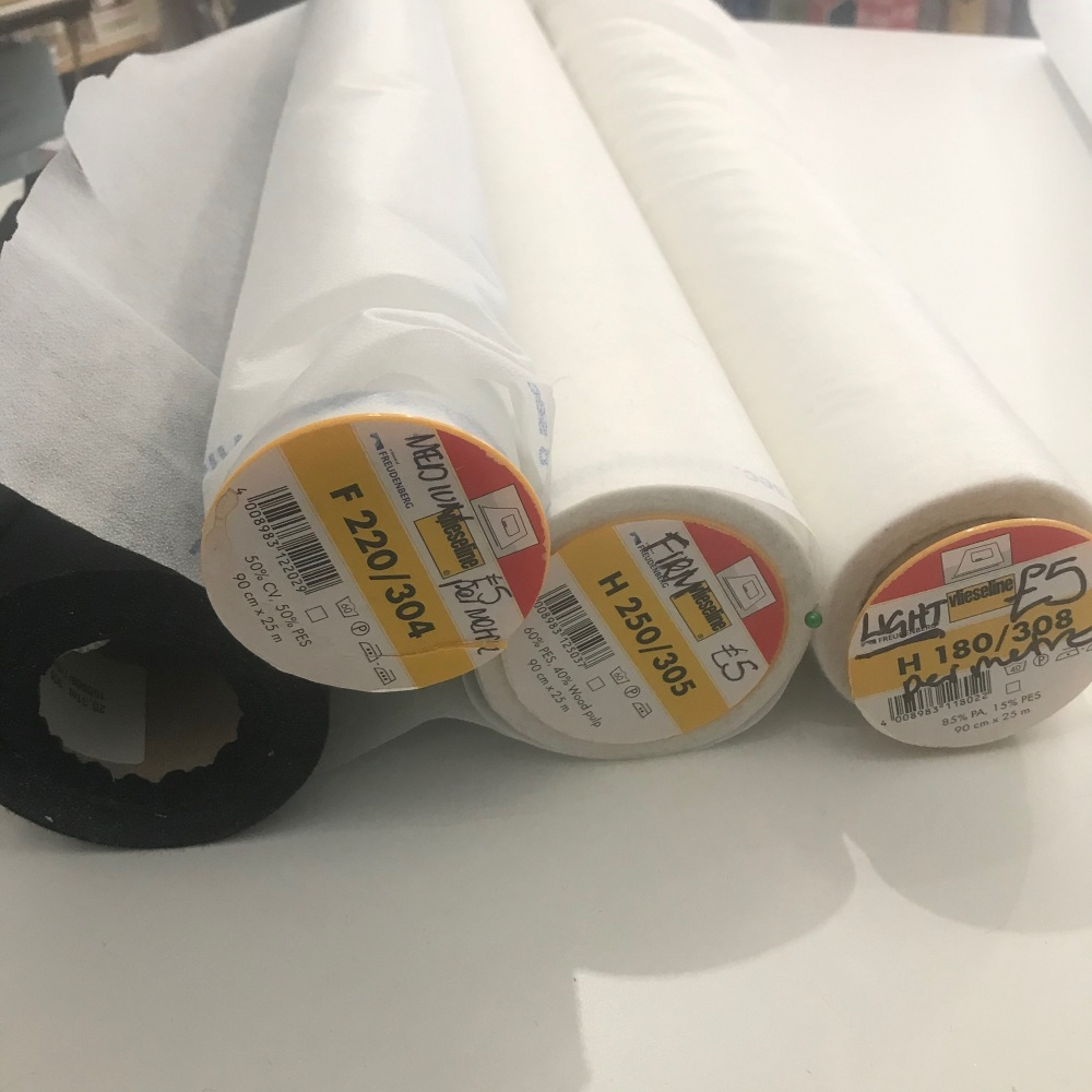 Vilene fusible interfacing
