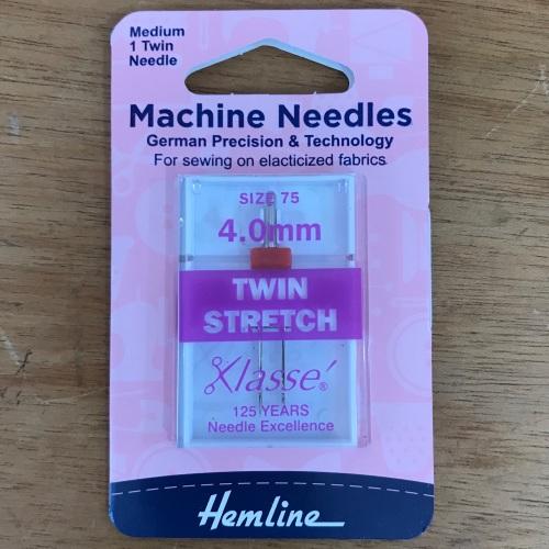 Machine Needles - Twin