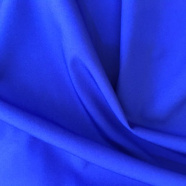 Plain Cotton Poplin - Royal Blue