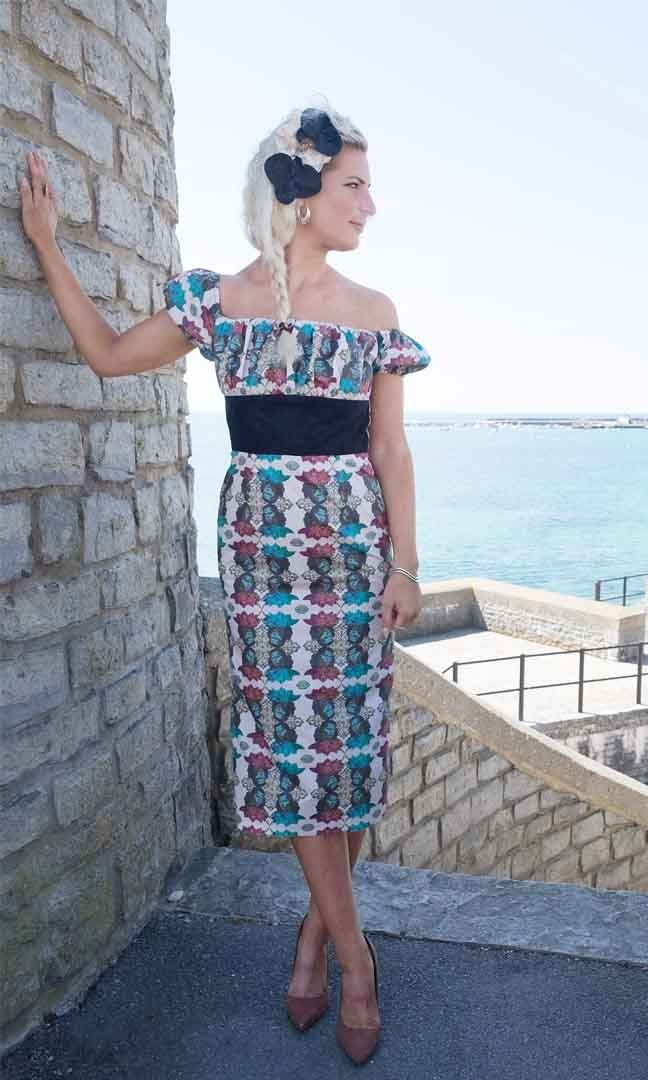Sew -la-di-Da - French Gypsy Dress