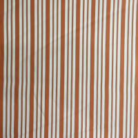 Cotton Mix - Orange Stripe