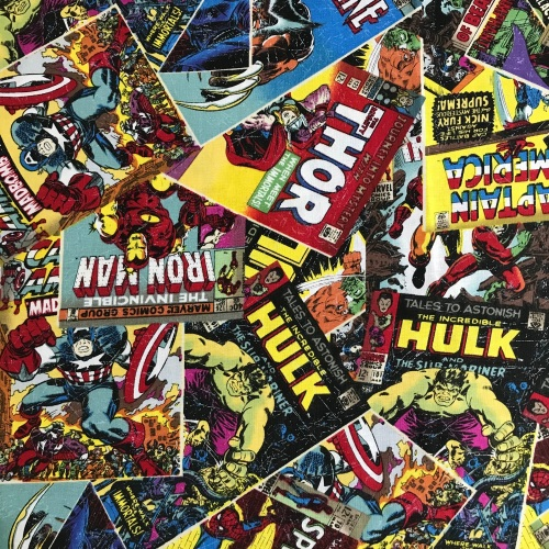 Marvel Comic Book by Craft Cotton Compay