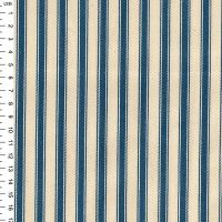 Cotton Ticking - Blue