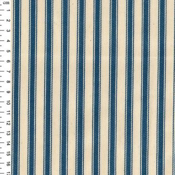Cotton Ticking - Blue