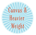 Canvas & Heavier Weight Fabric