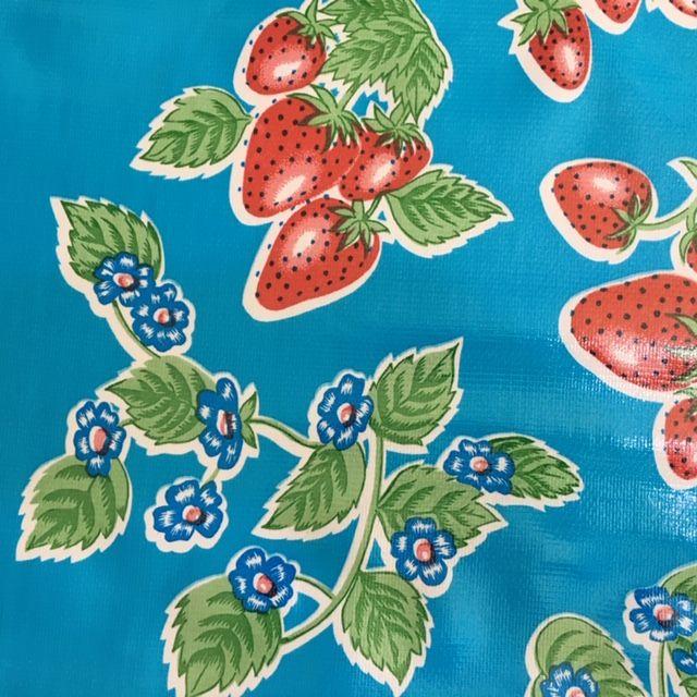 Oilcloth - Fresas Blue