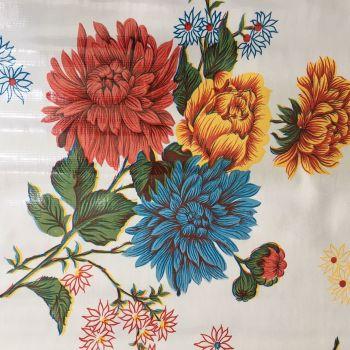 Oilcloth - Crisantemos