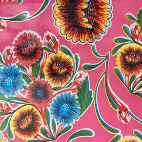Oilcloth - Florapola Pink