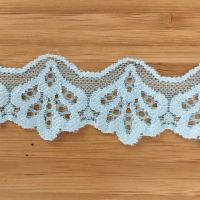 Stretch Lace - pale blue