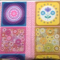 Lewis and Irene- Flower Child Cushion Panel