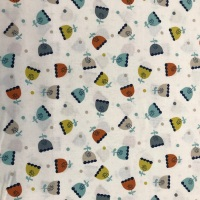 Dotty Blooms- Cotton Fabric by Dashwood